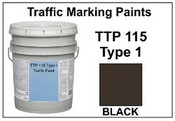 TTP-115F Type I Black - 5 Gallon