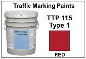 TTP-115F Type 1 Red - 5 Gallon