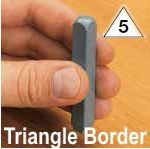 Border Inspection Stamps 1/4"