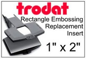 Trodat Embosser Rectangle Insert