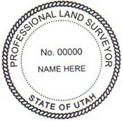 Utah Surveyor Embosser