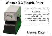 Widmer Date Widmer D-3 dater