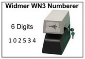 Widmer Electric Numbering Machine