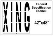 XING Federal Spec Stencil