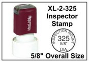 XL2.325 Pre-Inked Round Stamp