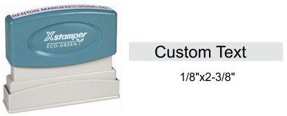"""X-Stamper N05 N05 Xstamper Pre-Inked Single Line Stamp 1/8"""" x 2-3/8"""""""