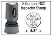 Xstamper N32 Pre-Inked Round Stamp