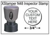 Xstamper N48 Pre-Inked Round Stamp