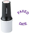 "Xstamper F20 - Quick Dry Large Inspection Stamp - 3/4"" diameter"