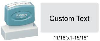 """XStamper N11 Xstamper N11 Pre-Inked Address Stamp 11/16"""" x 1-15/16"""""""