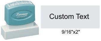 """XStamper N13 N13 Xstamper Pre-Inked Address Stamp 9/16"""" x 2"""""""