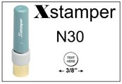 Xstamper N30 Inspection Style Stamp- 3/8""
