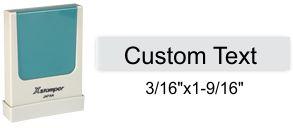 """XStamper N37 Xstamper N37, One Line Stamp - 3/16"""" x 1-9/16"""""""