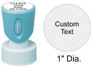 """XStamper N51 Xstamper N51, Inspector Style Stamp - 1"""" diameter"""