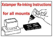 How to re-ink your Xstamper