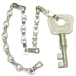 Amano Metal Station Key with Metal Chain