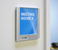 """Arris Wall Sign Frame - 7.125""""h x 6""""w Wall Sign w/Slider"""