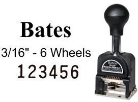 Bates Numbering Machine Bates Royall Automatic Numbering Machine