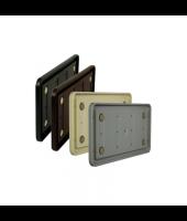 "Portico Poly Wall Frame - 6"" x 10"" Round Corner"