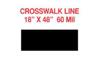 Crosswalk Stripe Stencils