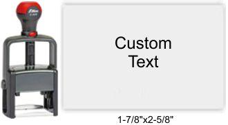 Shiny E-908 Self Inking Stamp Shiny Essentials E-903 Essential Metal Frame Self Inking Stamp