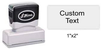 "Shiny EA-125 Premier Stamp 1"" x 2"""
