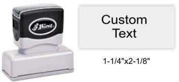 "Shiny EA-140 Premier Stamp 1-1/4"" x 2-1/8"""
