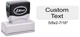"Shiny EA-145 Premier Stamp 5/8"" x 2-7/16"""