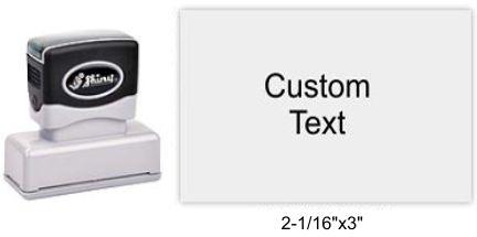 "Shiny EA-225 Premier Stamp 2-1/16""x3"""