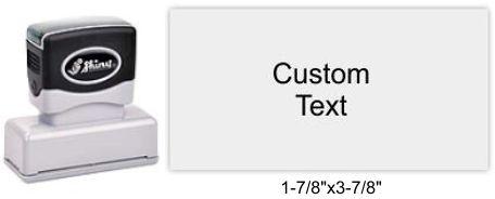 "Shiny EA-275 Premier Stamp 1-7/8""x3-7/8"""