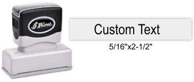 "Shiny EA-55 Premier Stamp 5/16"" x 2-1/2"""