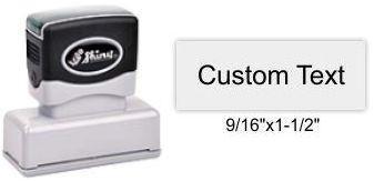 "Shiny EA-70 Premier Stamp 9/16"" x 1-1/2"""
