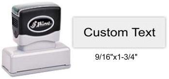 "Shiny EA-70 Premier Stamp 9/16"" x 1-3/4"""