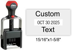 H-6100 Shiny Heavy Duty Self-Inking Dater