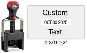 Shiny H-6103 Heavy Duty Self-Inking Dater