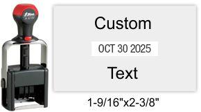 H-6107 Shiny Heavy Duty Self-Inking Dater