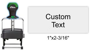 Shiny HM-6004 Heavy Metal Self Inking Stamp