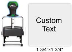 Shiny HM-6005 Heavy Metal Self Inking Stamp