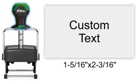 Shiny HM-6006 Heavy Metal Self Inking Stamp