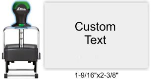 Shiny HM-6007 Heavy Metal Self Inking Stamp