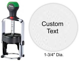 Shiny HM-6009 Heavy Metal Self Inking Stamp