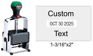 Shiny HM-6103 Heavy Metal Self Inking Dater