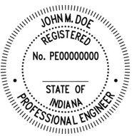 Indiana Engineering Stamp