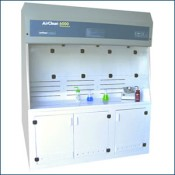 AC6000 shown with optional base cabinet
