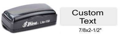 LI-150 Shiny Lite Pre-Inked Stamp