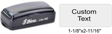 LI-190 Shiny Lite Pre-Inked Stamp