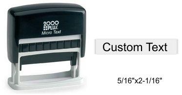S-110 Micro Plain Self Inking Stamp