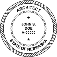 Nebraska Architectural Stamp