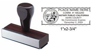 Notary Stamp Notary Public Hand Stamp