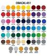 Vinyl Colors Vinyl Lettering Colors Oracal Graphic Film - Vinyl Colors
